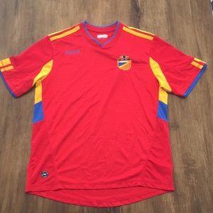 Mitre España DRI Fit Athletic Shirt